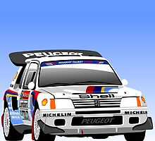 Peugeot 205 T16 Group B by car2oonz