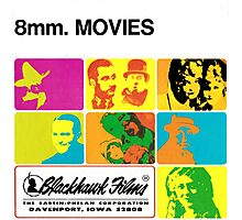 8mm. MOVIES Photographic Print