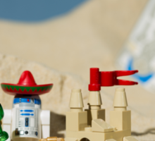 Lego Tatooine picnic Sticker