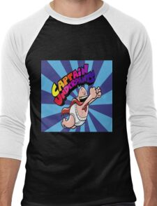 Captain Underpants Gold Tooth Men's Baseball ¾ T-Shirt