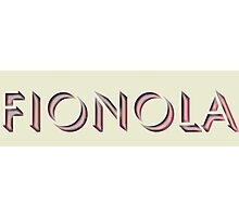 Fionola Photographic Print