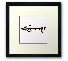 Eagle Spear - Gothic Framed Print