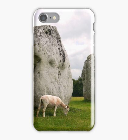 Avebury Stones iPhone Case/Skin