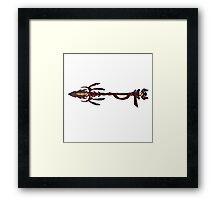 Eagle Spear - Monoke Framed Print