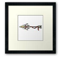 Eagle Spear - Transverse Framed Print