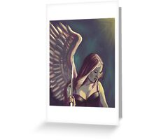 Battle wound Greeting Card