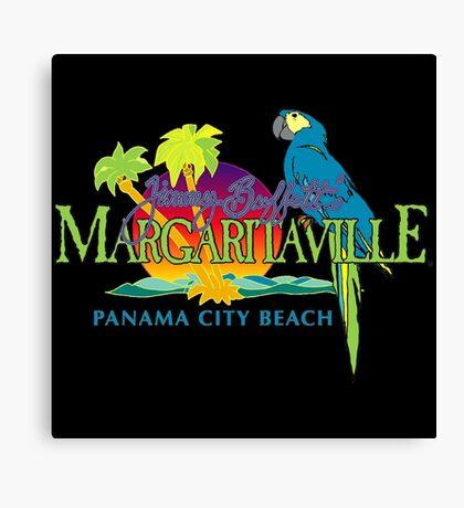 jimmy buffett's margaritaville panama city beach dolly Canvas Print