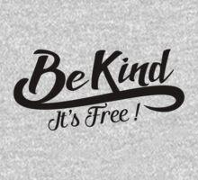 be kind it's free Kids Tee
