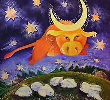 Jupiter (The One Who Bears the Moon) by Natalia Lvova