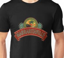 escape to paradise jimmy buffett's margaritaville original logo dolly Unisex T-Shirt