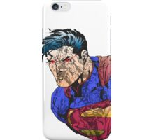 The Man of Steel Character Collage iPhone Case/Skin