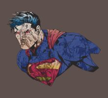The Man of Steel Character Collage Kids Clothes