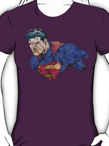 The Man of Steel Character Collage T-Shirt