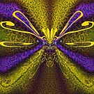 An Unusual Design-Butterfly, Dragonfly, Queen Bee?  by CarolM