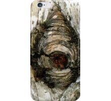 Painted Birch - Abstract from Nature iPhone Case/Skin