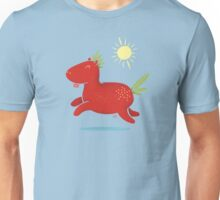 Strawberry Horse Unisex T-Shirt