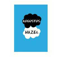 Augustus & Hazel - TFIOS Art Print
