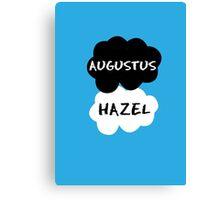 Augustus & Hazel - TFIOS Canvas Print