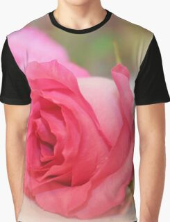 Pink Elegance Graphic T-Shirt