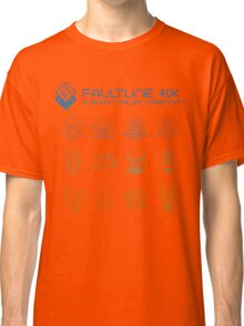 Faultline 40k | League of Frenemies | Cool Classic T-Shirt