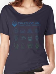 Faultline 40k | League of Frenemies | Cool Women's Relaxed Fit T-Shirt