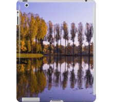 Line of Trees - Nature Photography iPad Case/Skin