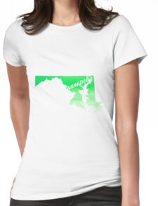 Annapolis Womens Fitted T-Shirt