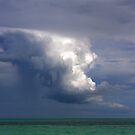 Storm cloud over Atlantic by zumi