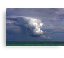 Storm cloud over Atlantic Canvas Print