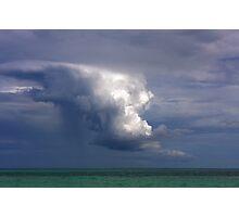 Storm cloud over Atlantic Photographic Print