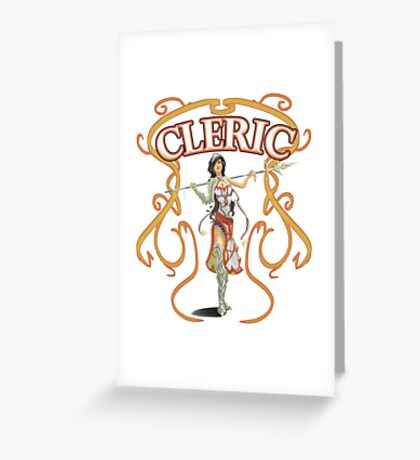 The Cleric Greeting Card