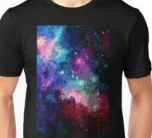 Pixel Psychedelic Nebula Unisex T-Shirt