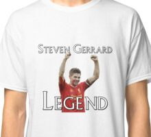 Steven Gerrard Legendary Series - Celebration Hands Raised Classic T-Shirt