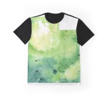 Watercolor Map of Utah, USA in Green - Giclee Print My Own Watercolor Painting Graphic T-Shirt