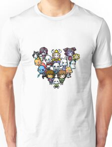Chibi Undertale Characters Unisex T-Shirt