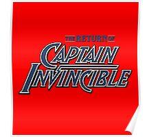 Captain Invincible (Blue) Poster