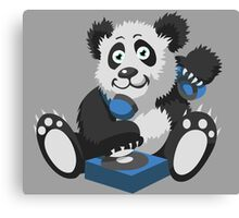 DJ Panda Canvas Print