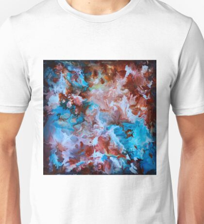 Liquid abstract Unisex T-Shirt