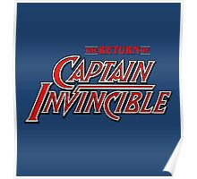 Captain Invincible (Red) Poster