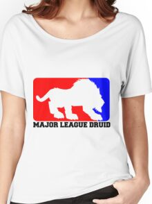Major League Druid: Feral DPS Women's Relaxed Fit T-Shirt
