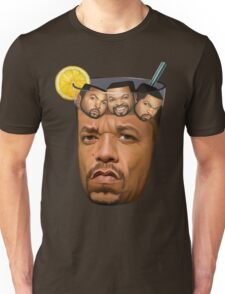 Just Some Ice Tea and Ice Cubes Unisex T-Shirt