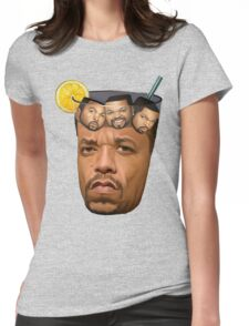 Just Some Ice Tea and Ice Cubes Womens Fitted T-Shirt