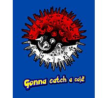 Gonna Catch a Cold! Photographic Print