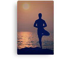 Best Yoga Canvas Print