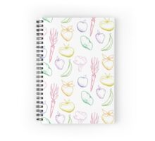 fruits & veggies Spiral Notebook