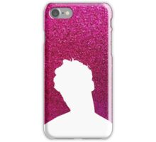 Darren Criss Hedwig and The Angry Inch Silhouette in Pink iPhone Case/Skin