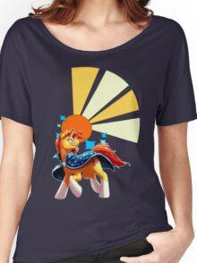 Sunburst Cutiemark Women's Relaxed Fit T-Shirt
