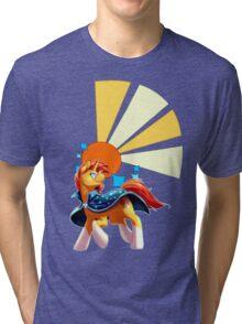 Sunburst Cutiemark Tri-blend T-Shirt