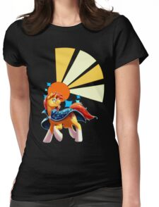 Sunburst Cutiemark Womens Fitted T-Shirt