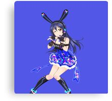 Love Live! - Cyber Umi  Canvas Print